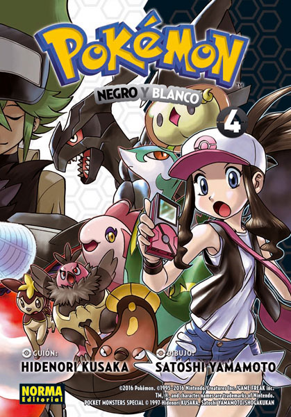 Pokemon Blanco y Negro 4
