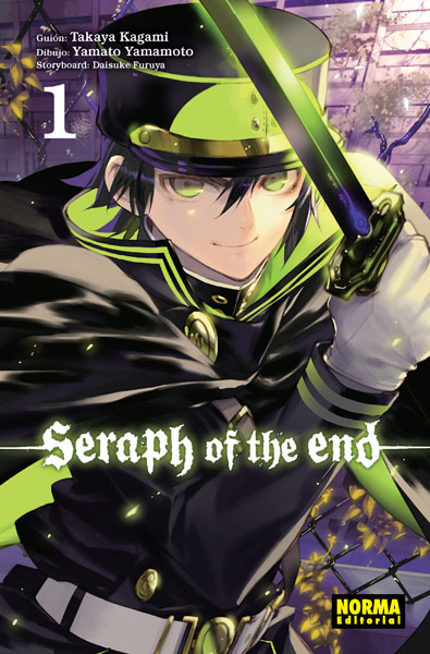Serpah of the end 1