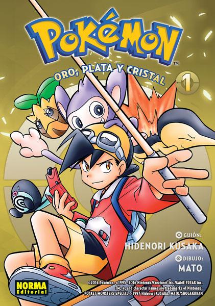 Pokemon Oro Plata y Cristal