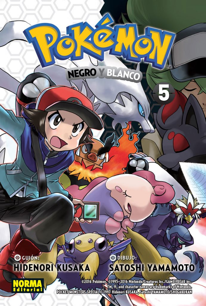 Pokemon Blanco y Negro 5
