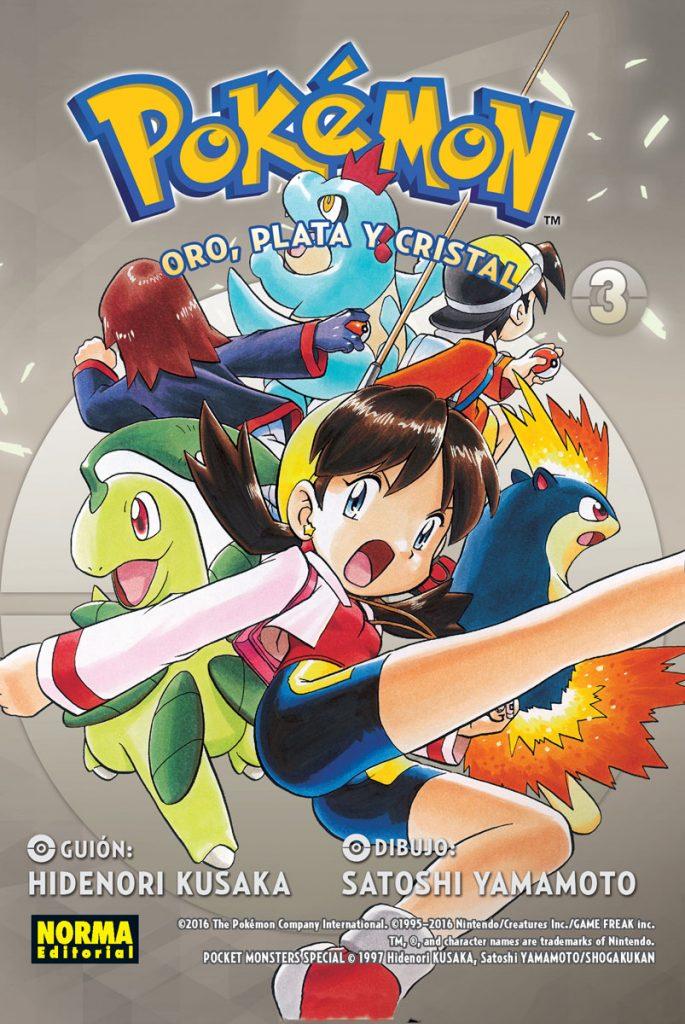 Pokemon Oro Plata y Cristal 3