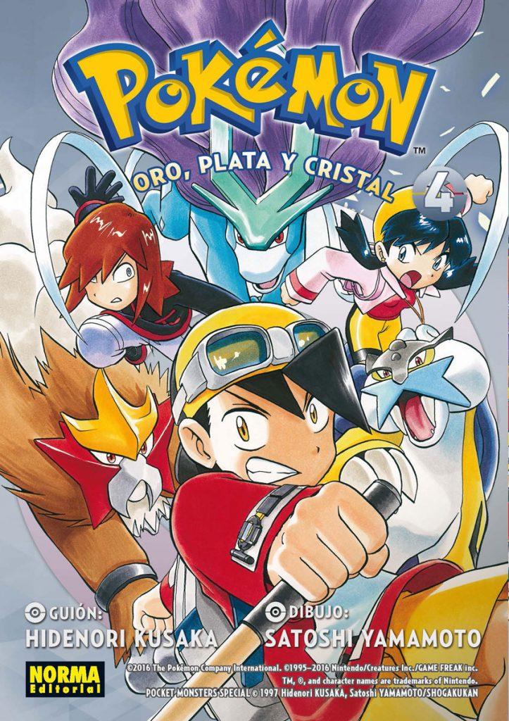 Pokemon Oro, plata y cristal 4