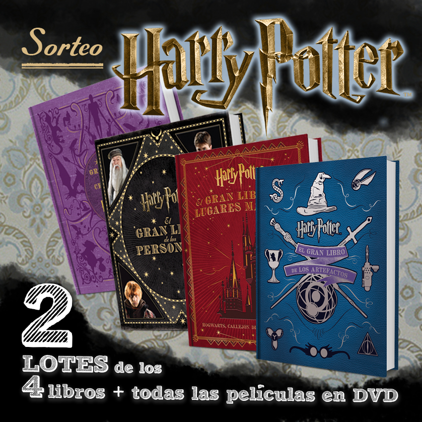 ANUNCIO FACEBOOK sorteo HARRY POTTER