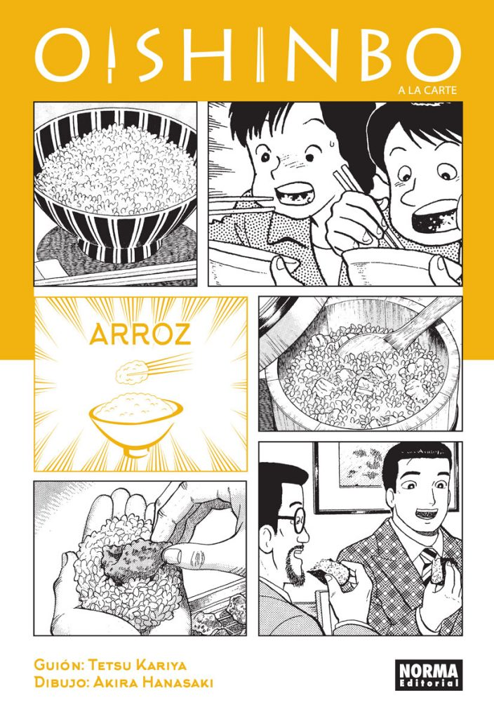 Oishinbo a la carte 6. Arroz