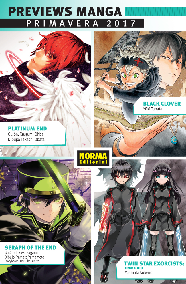 Previews Manga Primavera 2017