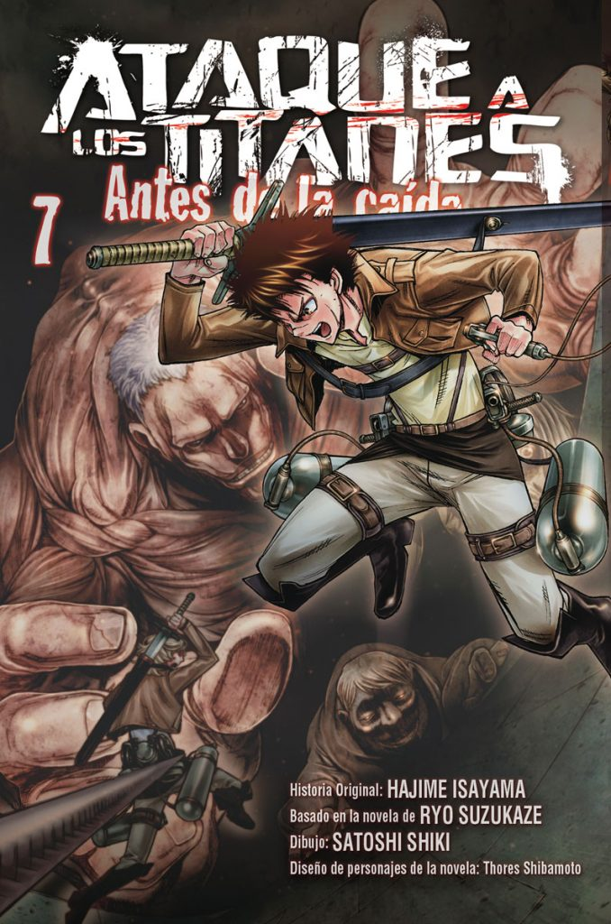 Ataque a los Titanes: Antes de la Caída 7