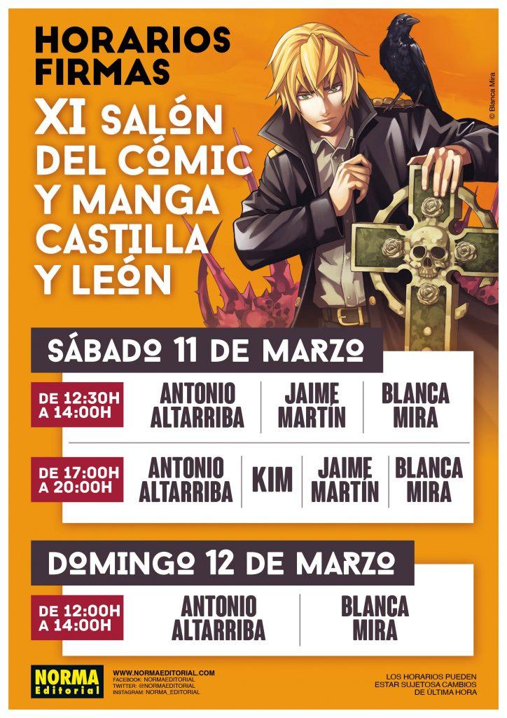 Norma Editorial en el XI Salón del Cómic y el Manga de Castilla y León. @NormaEditorial