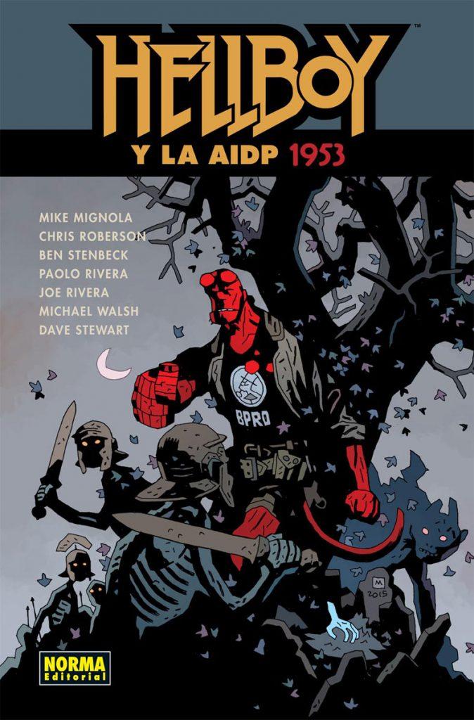 Hellboy y la AIDP 1953