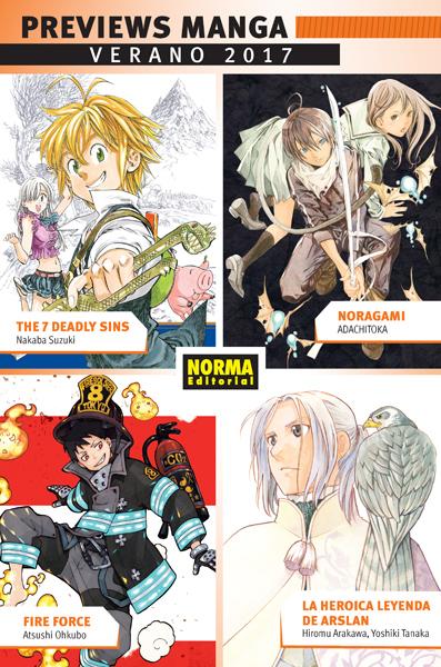 Previews Manga