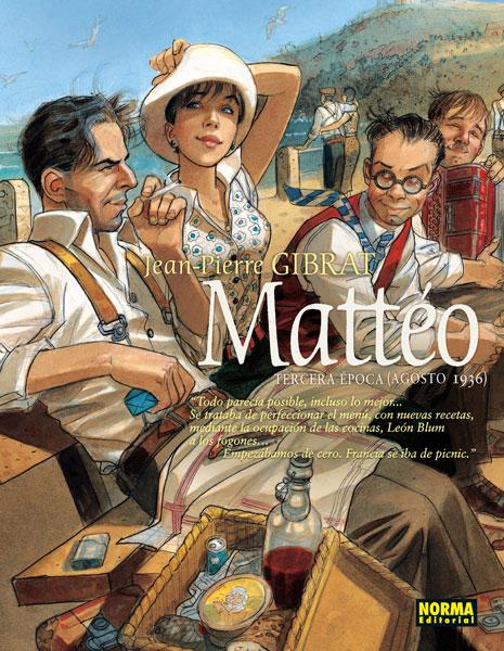 MATTÉO. Tercera época (Agosto 1936)