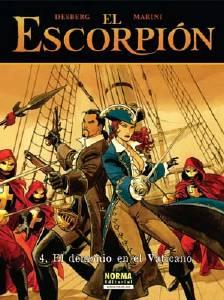 EL ESCORPI�N 04. EL DEMONIO DEL VATICANO (CARTON�)