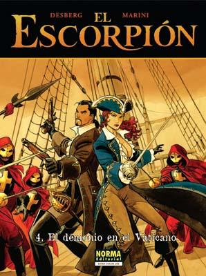 EL ESCORPIÓN 04. EL DEMONIO DEL VATICANO (CARTONÉ)