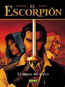 EL ESCORPI�N 01: LA MARCA DEL DIABLO (CARTON�)