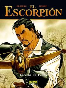 EL ESCORPI�N 03: LA CRUZ DE PEDRO (CARTON�)