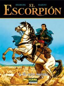 EL ESCORPI�N 05. EL VALLE SAGRADO (CARTON�)