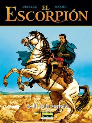EL ESCORPIÓN 05. EL VALLE SAGRADO (CARTONÉ)