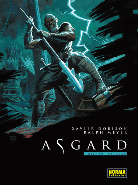 Asgard Integral,Ralph Meyer,  Xavier Dorison,Norma Editorial  tienda de comics en México distrito federal, venta de comics en México df