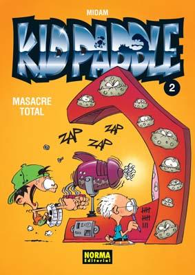 KID PADDLE 02. MASACRE TOTAL