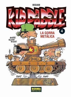 KID PADDLE 04. LA GORRA METÁLICA
