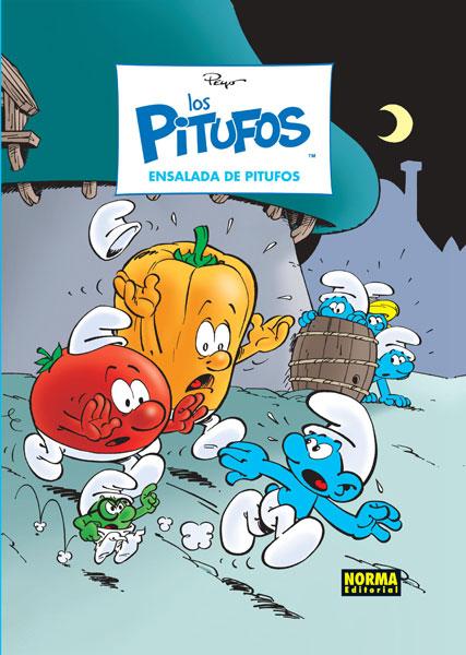 LOS PITUFOS 25. ENSALADA DE PITUFOS