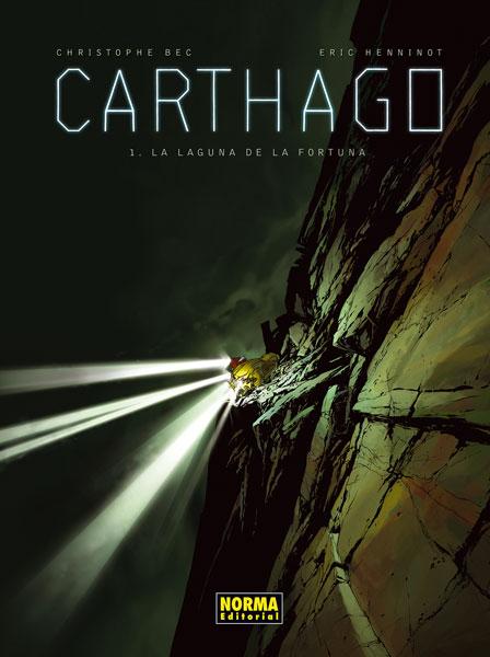 Carthago Vol. 1, La Laguna de la Fortuna,Cristophe Bec, Milan Jovanovic,Norma Editorial  tienda de comics en México distrito federal, venta de comics en México df