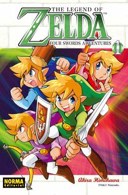 THE LEGEND OF ZELDA 08: FOUR SWORDS ADVENTURES vol. 1