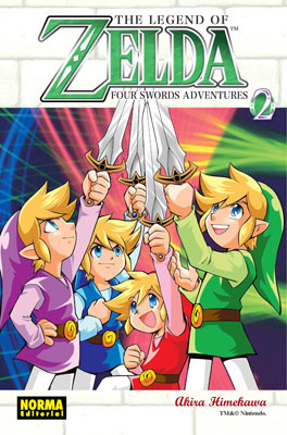 THE LEGEND OF ZELDA 09: FOUR SWORDS ADVENTURES vol. 2