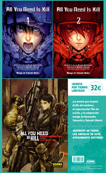 ALL YOU NED IS KILL PACK COMPLETO