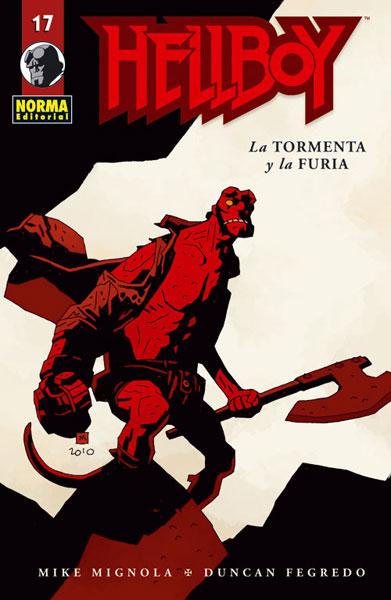 HELLBOY 17: LA TORMENTA Y LA FURIA (Ed. Rústica)
