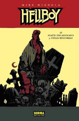 HELLBOY 03: EL ATAÚD ENCADENADO Y OTRAS HISTORIAS (Ed. Cartoné)