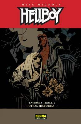 HELLBOY 10: LA BRUJA TROL Y OTRAS HISTORIAS (Ed. Cartoné)