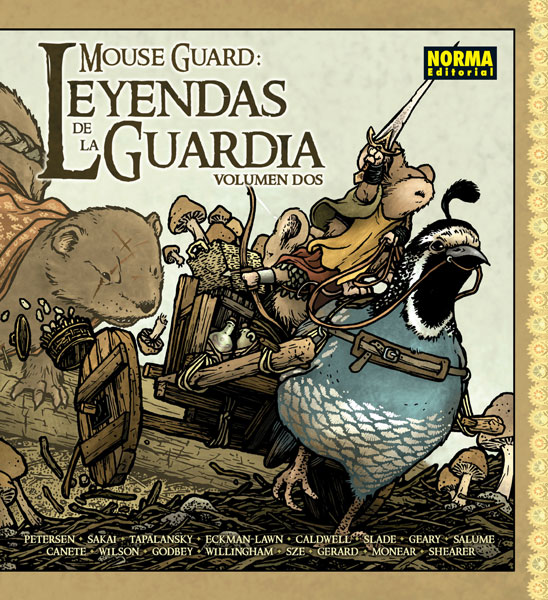 MOUSE GUARD: LEYENDAS DE LA GUARDIA 2