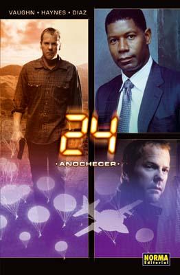 24. Volumen 2. Anochecer (Vaughn, Haynes y Diaz)     (ULTIMO NUMERO)