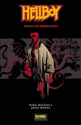 HELLBOY 01: SEMILLA DE DESTRUCCIÓN (Ed. Rústica)
