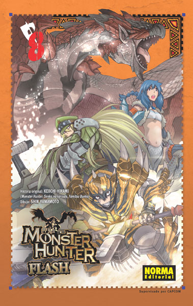 MONSTER HUNTER FLASH! 8
