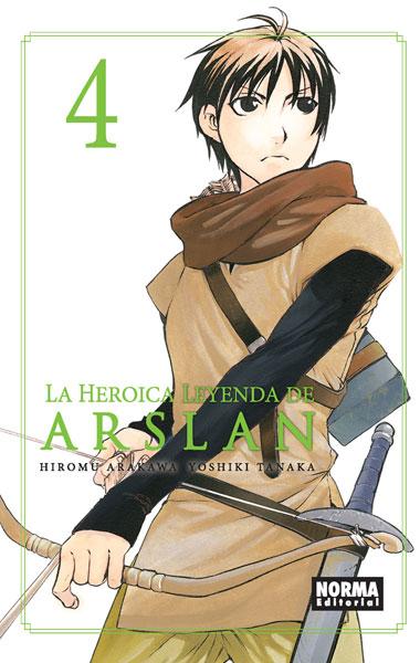 LA HEROICA LEYENDA DE ARSLAN 4