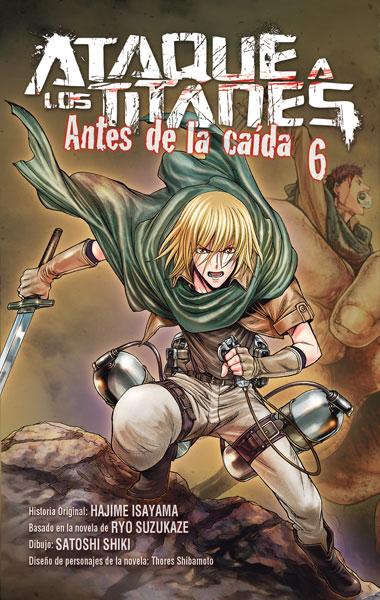 ATAQUE A LOS TITANES: ANTES DE LA CAÍDA 6