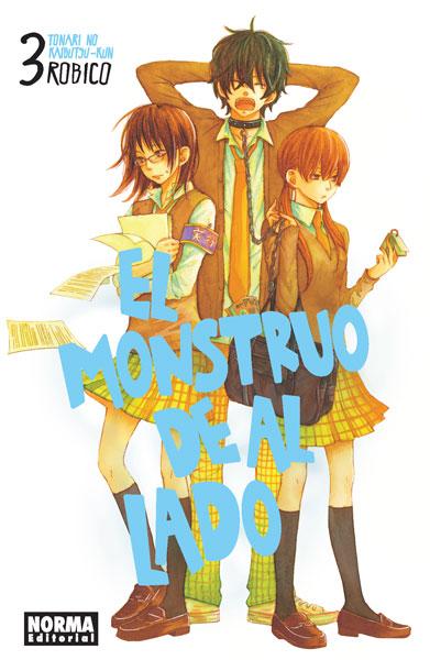 EL MONSTRUO DE AL LADO (TONARI NO KAIBUTSUKUN) 3