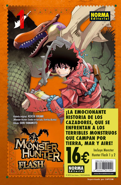 PACK DE INICIACIÓN MONSTER HUNTER FLASH!