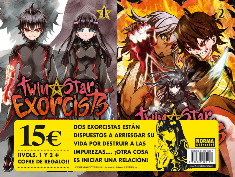 PACK DE LANZAMIENTO TWIN STAR EXORCISTS