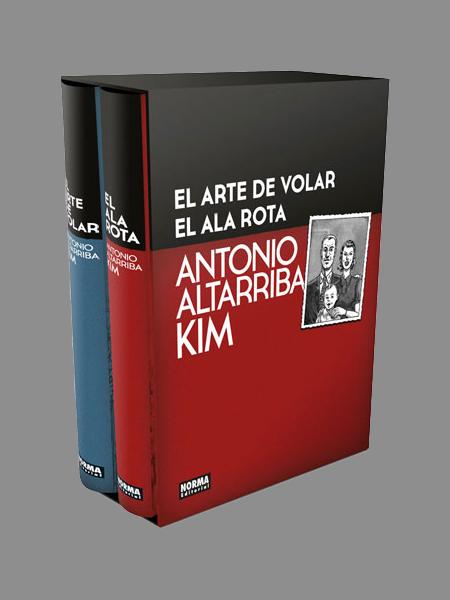 EL ARTE DE VOLAR Y EL ALA ROTA. COFRE EDICIÓN COLECCIONISTA