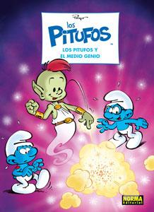 LOS-PITUFOS-35-LOS-PITUFOS-Y-EL-MEDIO-GENIO