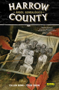 HARROW COUNTY 4. ÁRBOL GENEALÓGICO