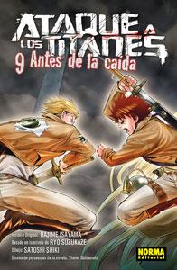 ATAQUE A LOS TITANES: ANTES DE LA CAÍDA 9