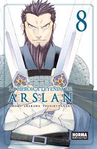 LA HEROICA LEYENDA DE ARSLAN 8