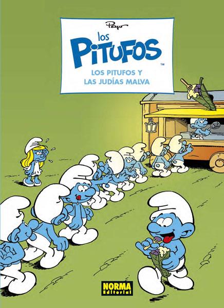 LOS PITUFOS 36. LOS PITUFOS Y LAS JUDÍAS MALVA